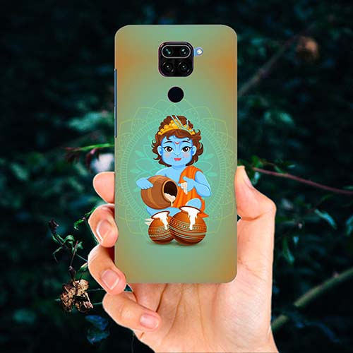 Krishna Makhanchor Phone Cover for Redmi Note 9