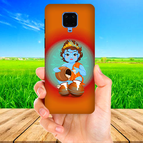 Kisna Makhanchor Orange Phone Cover for Xiaomi Poco M2 Pro