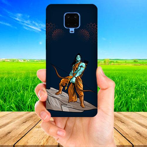 Dhanurdhari Ram Dark Phone Cover for Xiaomi Poco M2 Pro