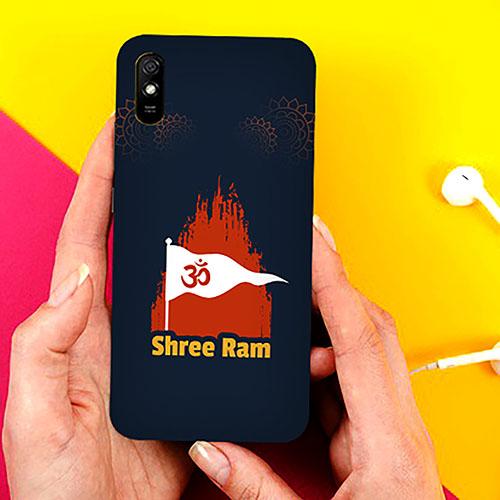 Shri Ram Dhvaj Phone Cover for Xiaomi Redmi 9A Cases