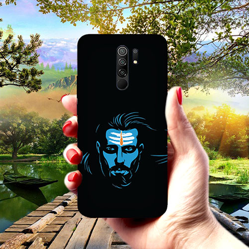 Mahadev Blue Phone Cover for Redmi 9 Prime