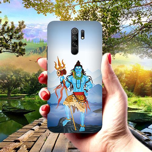 Shiv Kailash Phone Cover for Redmi 9 Prime