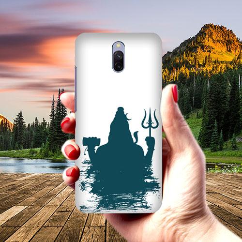 Shiva Blue Shadow Phone Cover for Xiaomi Redmi 8A Dual