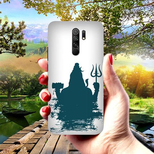 Shiva Blue shadow Phone Cover for Redmi 9 Prime