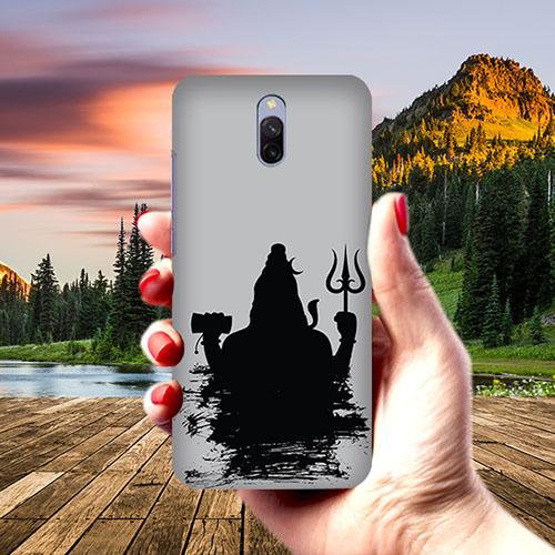 Mahadev Black Shadow Phone Cover for Xiaomi Redmi 8A Dual