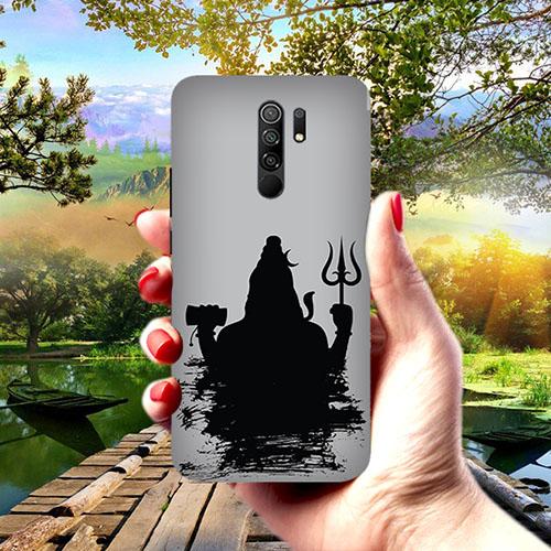 Mahadev Black Shadow Phone Cover for Redmi 9 Prime