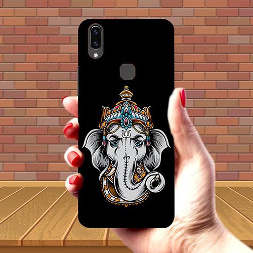 Ganesha Dark Mobile Phone Cover for Vivo V9