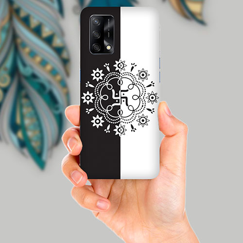 Swastika Mobile Back Cover for OPPO F19