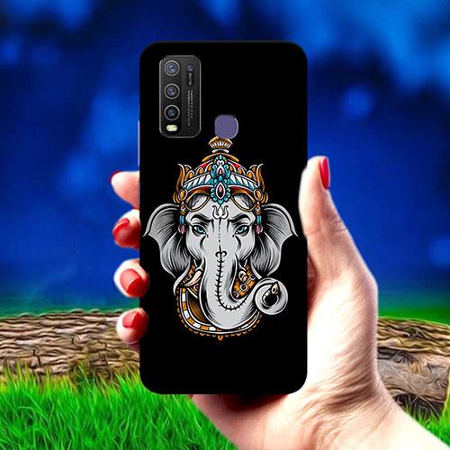 Ganesha Dark Mobile Phone Cover for Vivo Y50