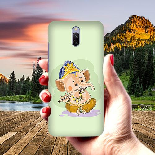 Nanhe Ganesha Phone Cover for Xiaomi Redmi 8A Dual