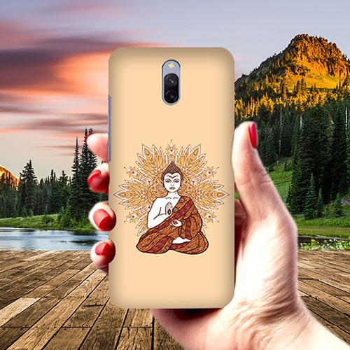 Meditating Budhha Phone Cover for Xiaomi Redmi 8A Dual