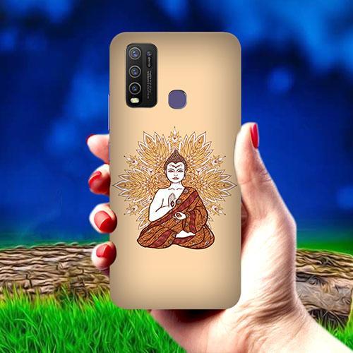 Meditating Buddha Mobile Phone Cover for Vivo Y50