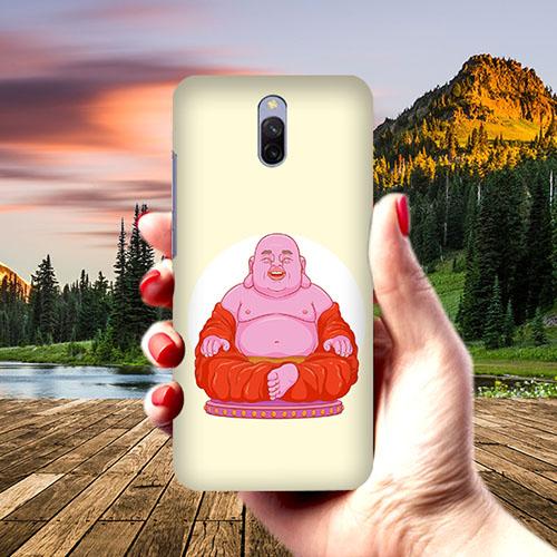 Laughing Budhha Phone Cover for Xiaomi Redmi 8A Dual