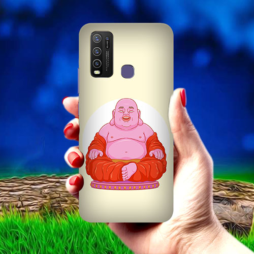 Laughing Buddha Mobile Phone Cover for Vivo Y50