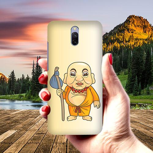 Walking Budhha Phone Cover for Xiaomi Redmi 8A Dual