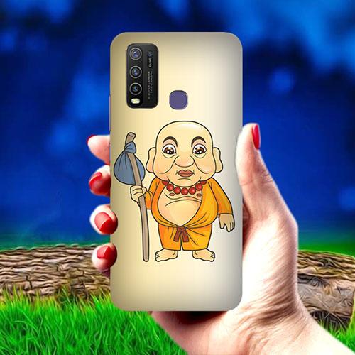 Walking Buddha Mobile Phone Cover for Vivo Y50