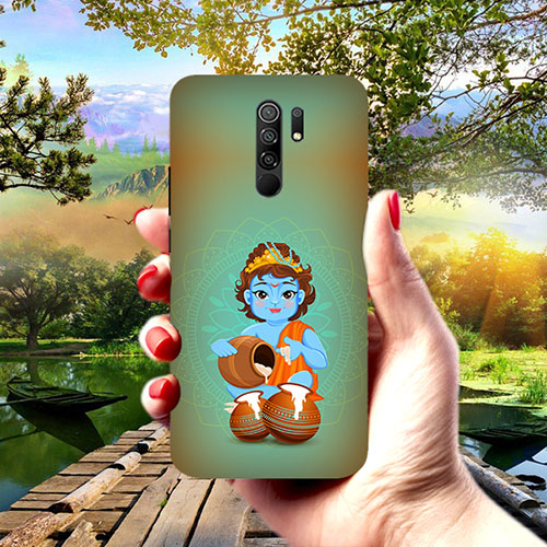 Krishna Makhanchor Phone Cover for Redmi 9 Prime