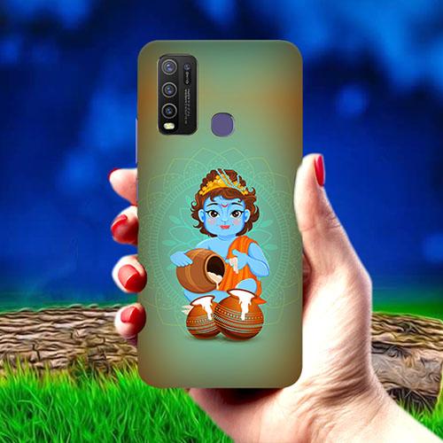 Krishna makhanchor Mobile Phone Cover for Vivo Y50