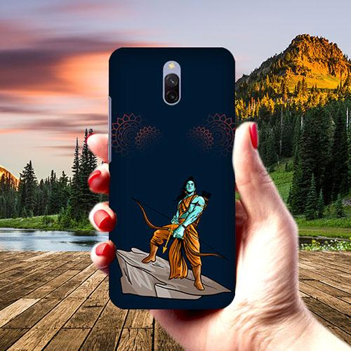 Dhanurdhari Ram Dark Phone Cover for Xiaomi Redmi 8A Dual