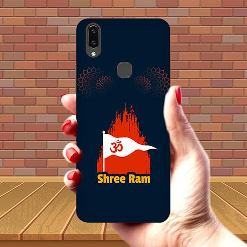 Shiv Ram Dhvaj Mobile Phone Cover for Vivo V9