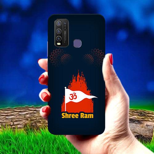 Shiv Ram Dhvaj Mobile Phone Cover for Vivo Y50