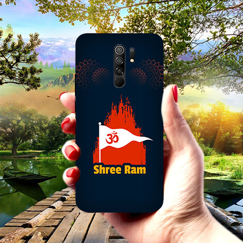 Shiv Ram Dhvaj Phone Cover for Redmi 9 Prime