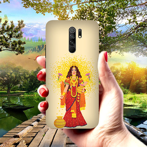 Maa Laxmi Phone Cover for Redmi 9 Prime