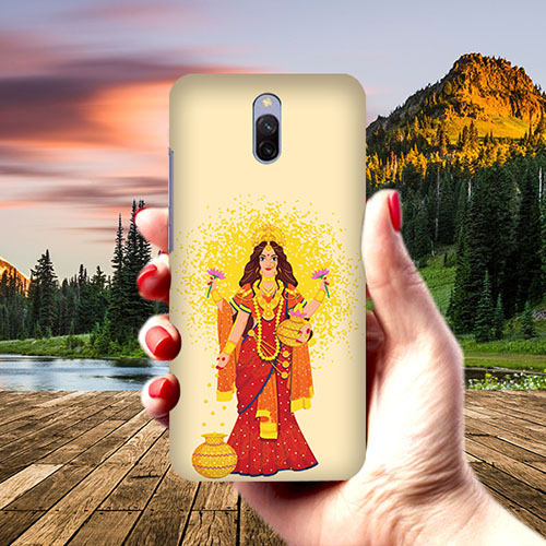 Maa Laxmi Phone Cover for Xiaomi Redmi 8A Dual