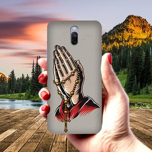 Cross Prayer Phone Cover for Xiaomi Redmi 8A Dual