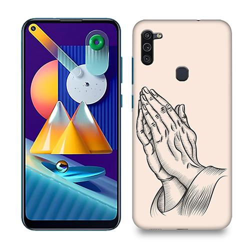 Prayer Sketch Phone Cover for Samsung M11