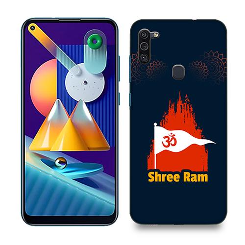 Shri Ram Dhvaj Phone Cover for Samsung M11