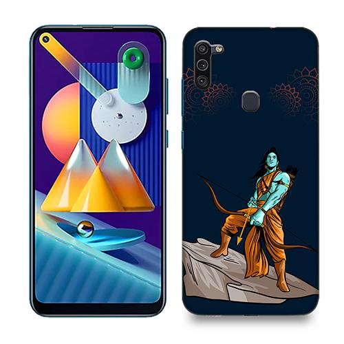 Dhanurdhari Ram Dark Phone Cover for Samsung M11