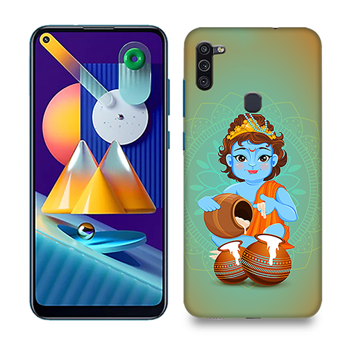 Kisna Makhanchor Phone Cover for Samsung M11