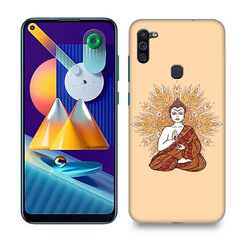 Meditating Budhha Phone Cover for Samsung M11