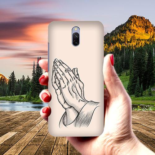 Prayer Sketch Phone Cover for Xiaomi Redmi 8A Dual