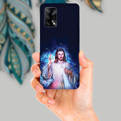 Lord Jesus Mobile Back Cover for OPPO F19