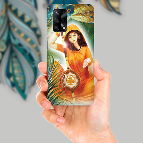 Radha Mobile Back Cover for OPPO F19