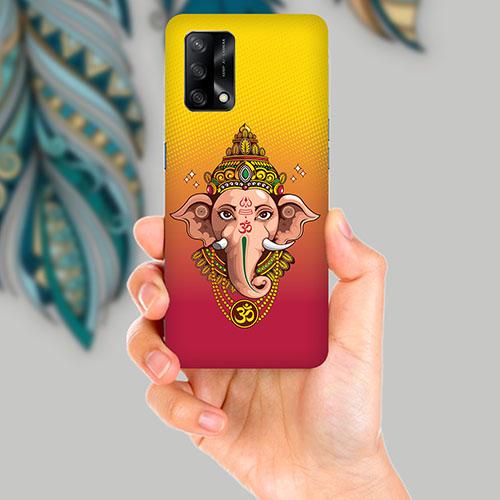 Ganesha Mobile Back Cover for OPPO F19