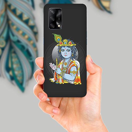 Krishna Mobile Back Cover for OPPO F19