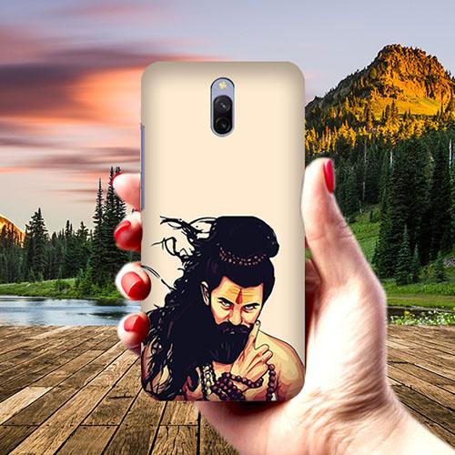 Bearded Mahadev Phone Cover for Xiaomi Redmi 8A Dual