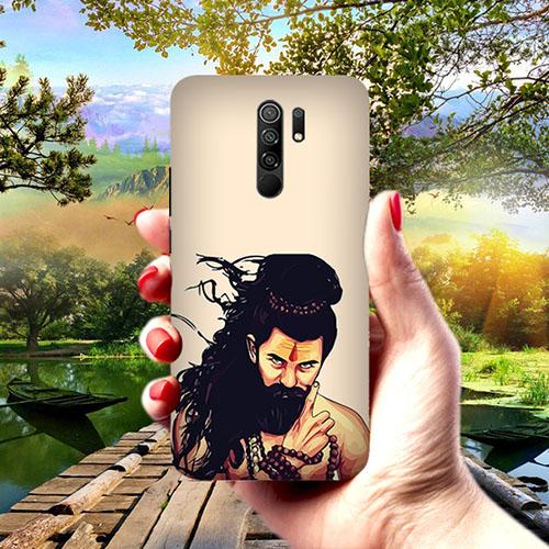 Bearded Mahadev Phone Cover for Redmi 9 Prime