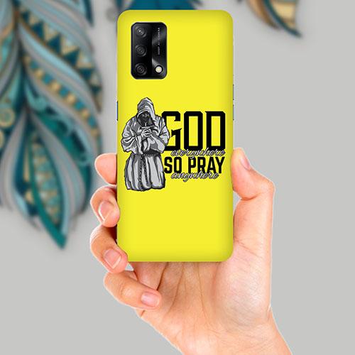 God Mobile Back Cover for OPPO F19