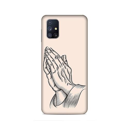 Prayer Sketch Phone Cover for Samsung M51