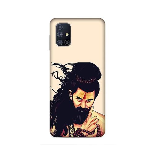 Bearded Mahadev Phone Cover for Samsung M51