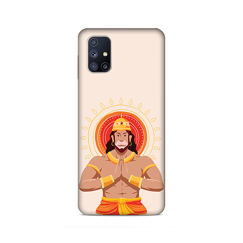 Jai Hanuman Phone Cover for Samsung M51