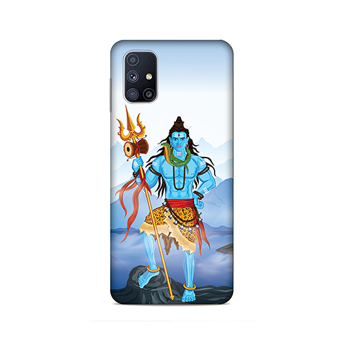 Shiv Kailash Phone Cover for Samsung M51