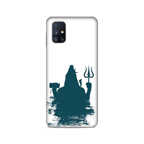 Shiva Blue Shadow Phone Cover for Samsung M51