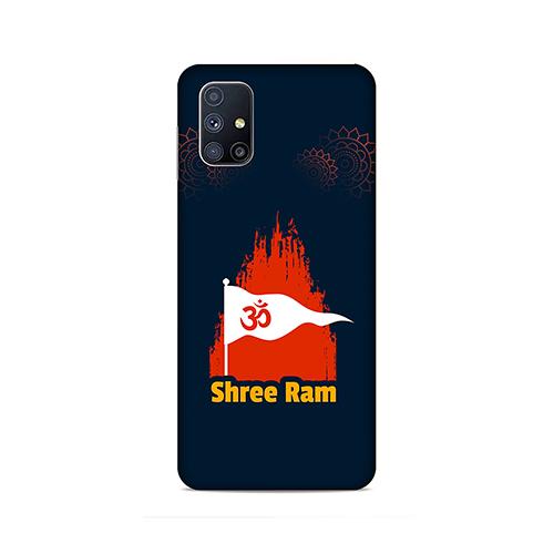 Shiv Ram Dhvaj Phone Cover for Samsung M51