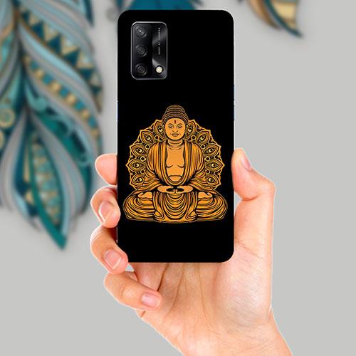 Gautama Buddha Mobile Back Cover for OPPO F19