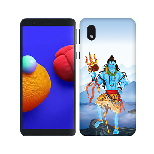 Shiv Kailash Phone Cover for Samsung M01